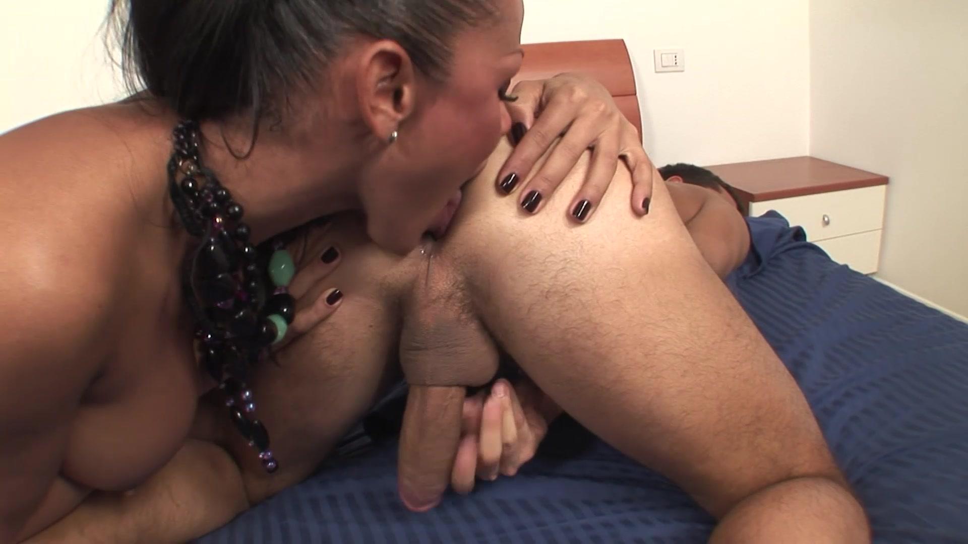 Watch Busty Ts Latina Enjoys Sucking And Riding Bfs Big Cock