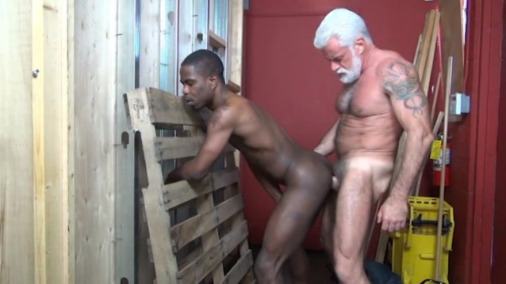 Streaming porn video still #2 from Rocco Steele's Dad's Bareback Barbershop