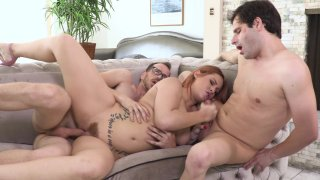 Streaming porn video still #9 from Coming Out Bi 5