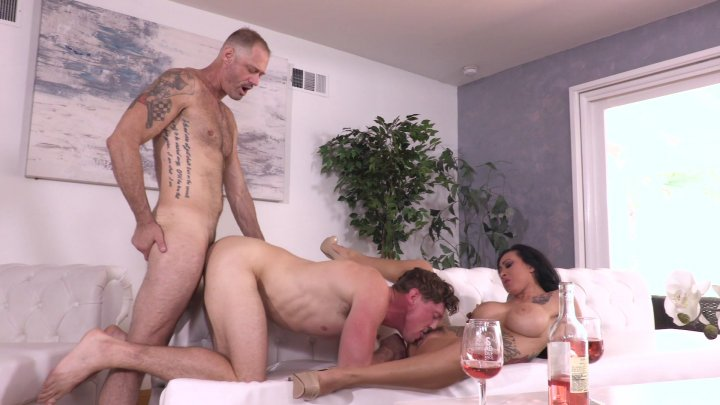 Streaming porn video still #2 from Coming Out Bi 5