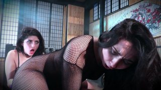 Streaming porn video still #9 from Lesbian Domination