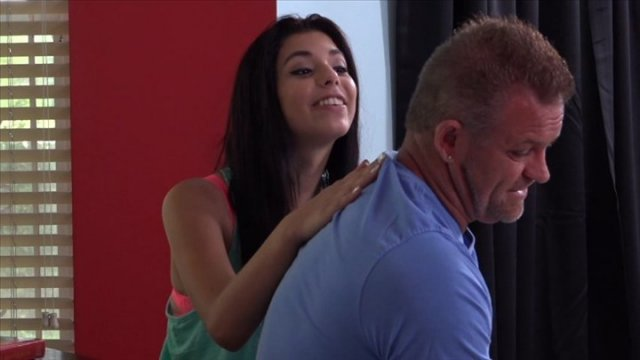 Gina Valentina Takes A Study Break To Bang Her Stepdad