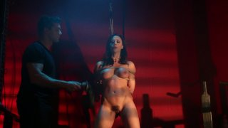 Beautiful Brunette Babe Preston is Tied up and Fucked