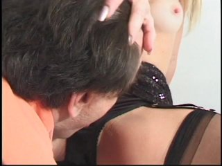 Streaming porn scene video image #3 from Juicy blonde MILF bouncing on her cousin cock