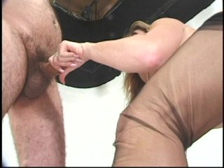 Streaming porn scene video image #6 from Juicy blonde MILF bouncing on her cousin cock