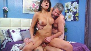Streaming porn video still #4 from Kinky Cuckold Gangbang 3