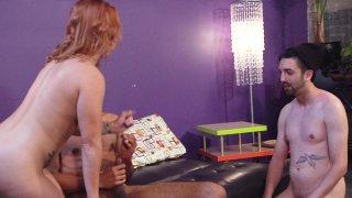 Streaming porn video still #4 from Kinky Cuckold 3 Gangbang