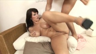Streaming porn video still #7 from Fuck My Big Titted Wife #12