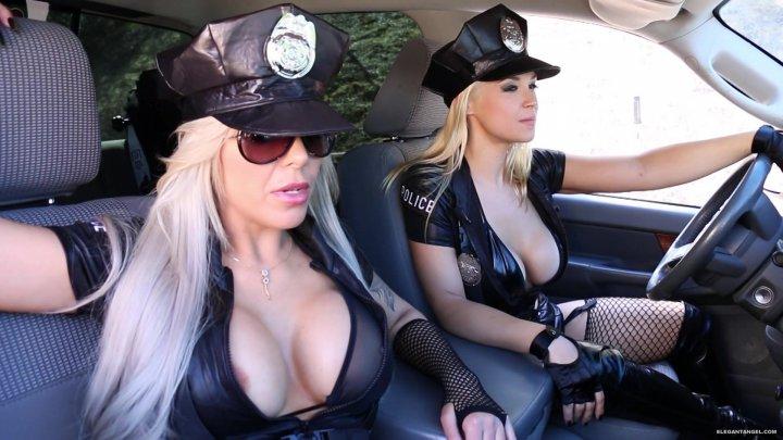 Streaming porn video still #4 from Busty Cops On Patrol 2
