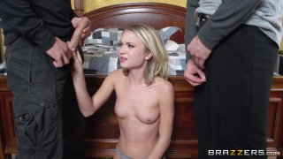 Streaming porn video still #2 from Brazzers Presents: The Parodies 5 - Straight Outta Brazzers
