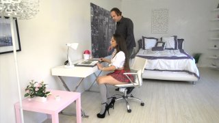 Streaming porn video still #2 from Stepdad Seduction #3