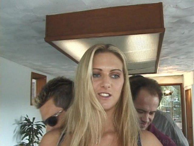 Streaming porn video still #2 from Tiny Tit DP Gangbang 3