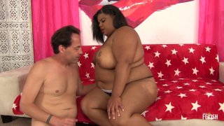 Streaming porn scene video image #1 from Interracial BBW Fucking