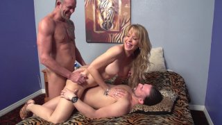 Desi Invites T. Stone Over For A Threesome