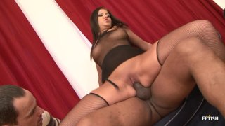 Streaming porn scene video image #1 from Girlfriend Cuckolds Her Man With A Black Stud