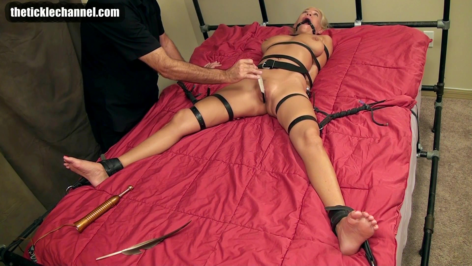 Girl tied and tickled naked clips — 8