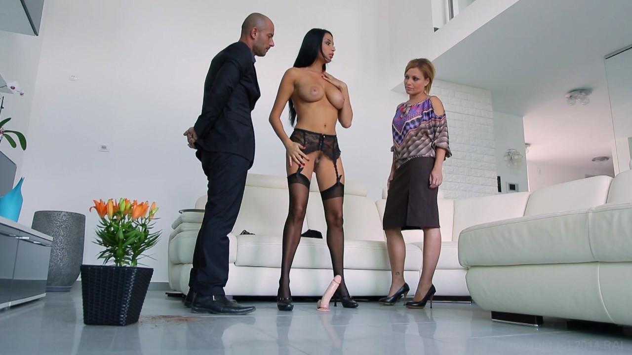 Busty sexy maids