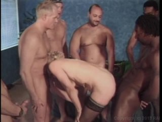 Streaming porn video still #1 from Granny's Gang Bang