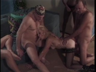Streaming porn video still #6 from Granny's Gang Bang