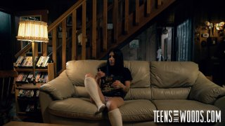 Streaming porn video still #3 from Teens in the Woods: Alissa Avni