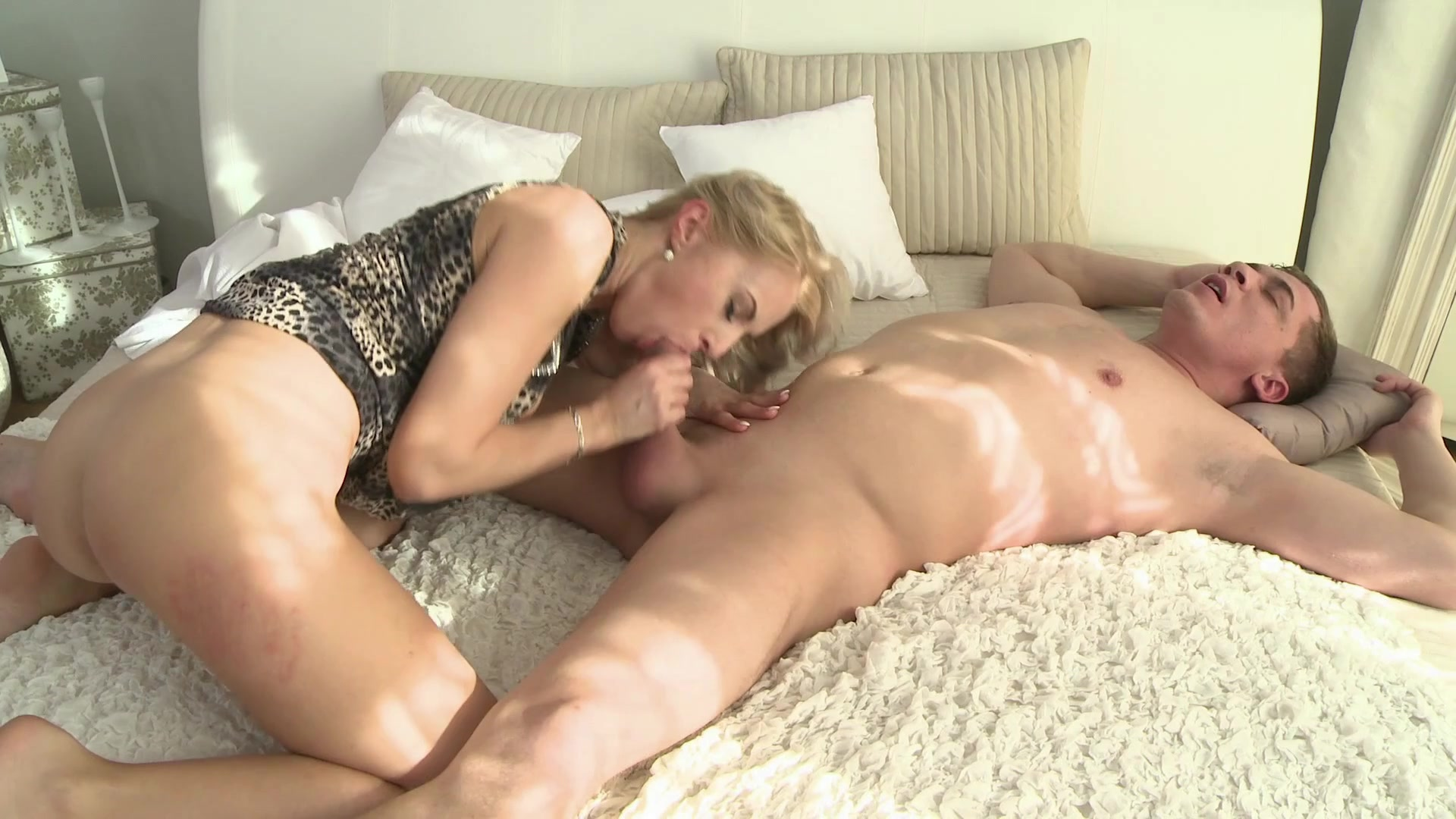 Young blonde milf