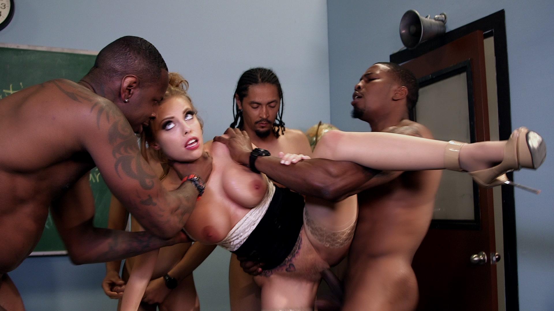 Britney ambers gangbang