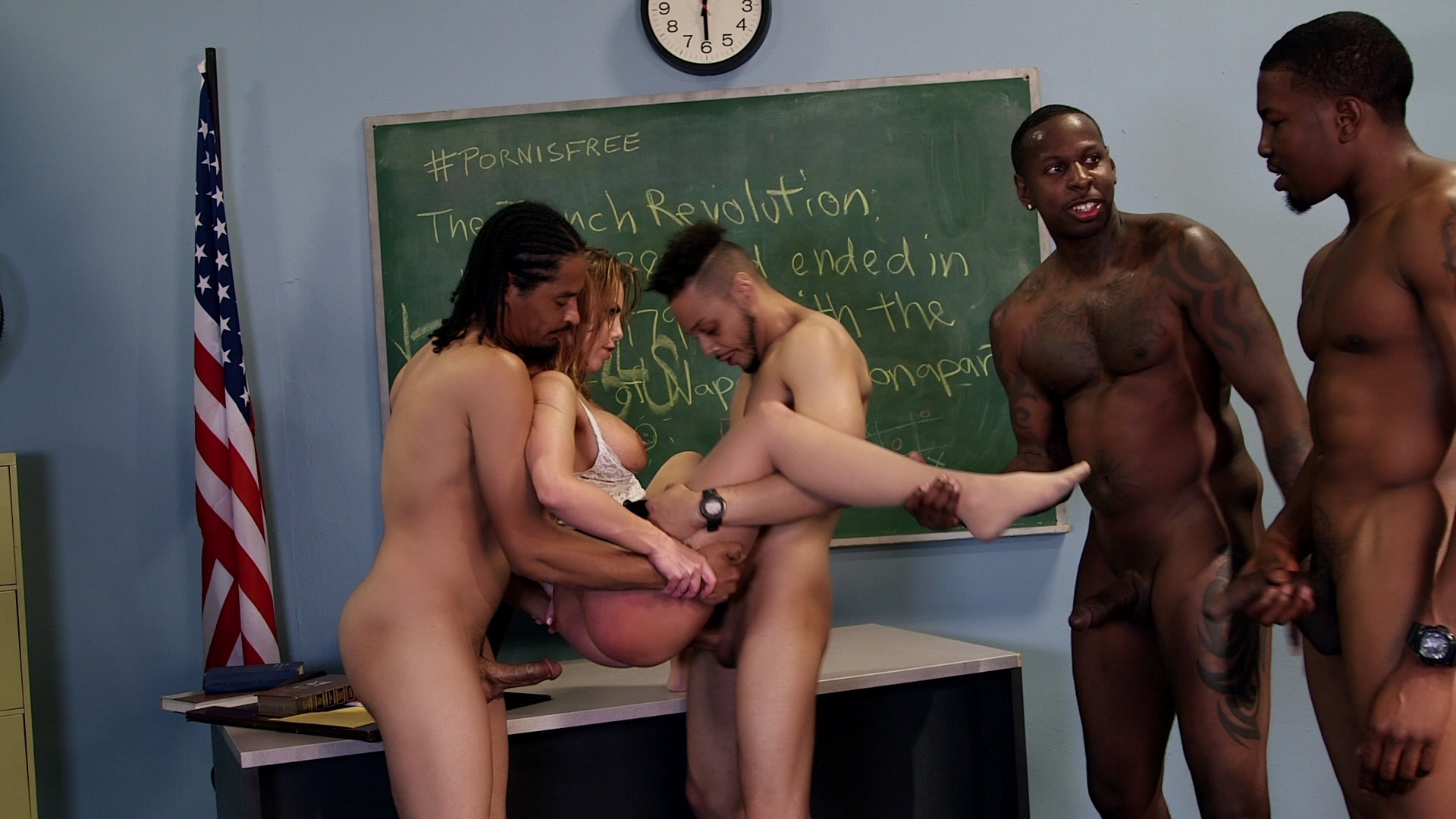 Guy teacher fucks student