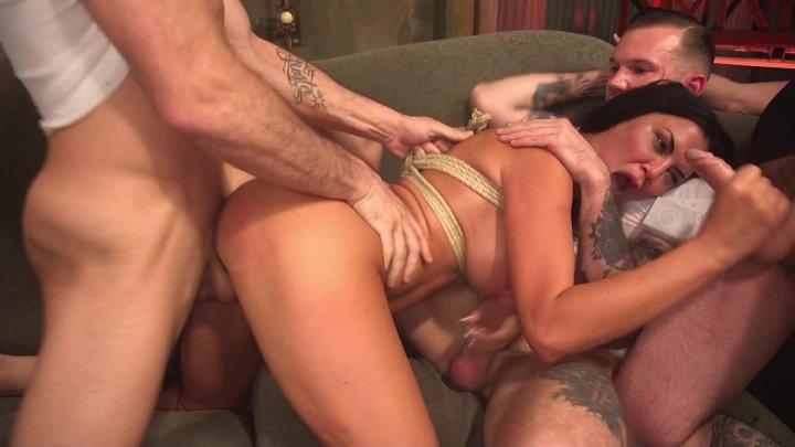 Streaming porn video still #3 from Hardcore Gangbang Vol. 5: Minxy MILFs
