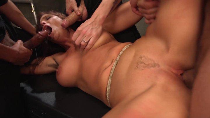 Streaming porn video still #1 from Hardcore Gangbang Vol. 5: Minxy MILFs