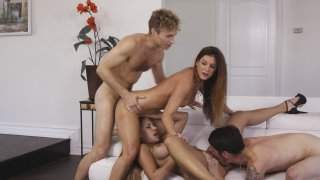 Streaming porn video still #6 from Cougar Orgy