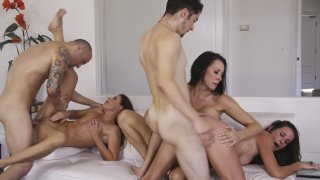 Streaming porn video still #11 from Cougar Orgy