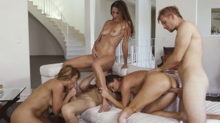 Streaming porn video still #18 from Cougar Orgy