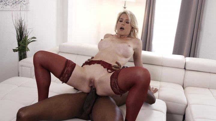 Streaming porn video still #4 from Interracial Deep Throating Moms