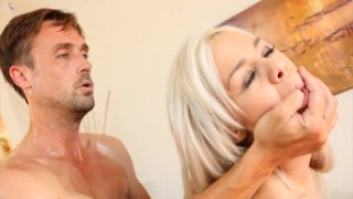 Streaming porn video still #6 from Fucking A Blonde Babe