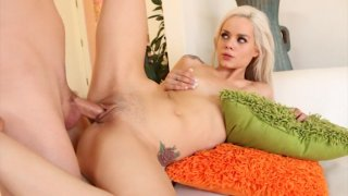 Streaming porn video still #8 from Fucking A Blonde Babe