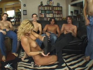 Streaming porn video still #1 from Awesome Gangbangs