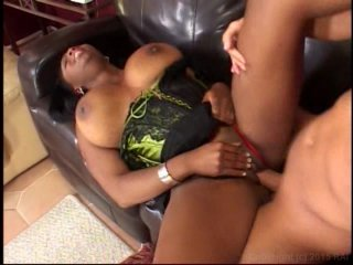 Streaming porn video still #4 from Ebony Chicks & White Dicks