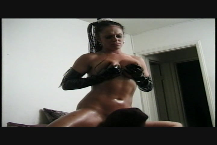 Big boobed brunette nina whett takes a hard cock