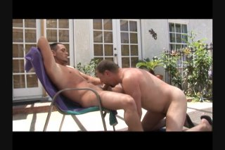 Streaming porn scene video image #2 from Chubby Bangs His Toned Stud Outdoors