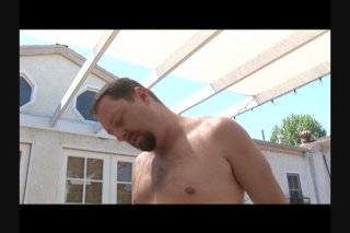 Streaming porn scene video image #8 from Chubby Bangs His Toned Stud Outdoors