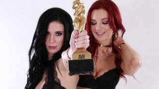 Lesbian Performers Jaden Cole & Aiden Ashley Show Why They Were Nominated