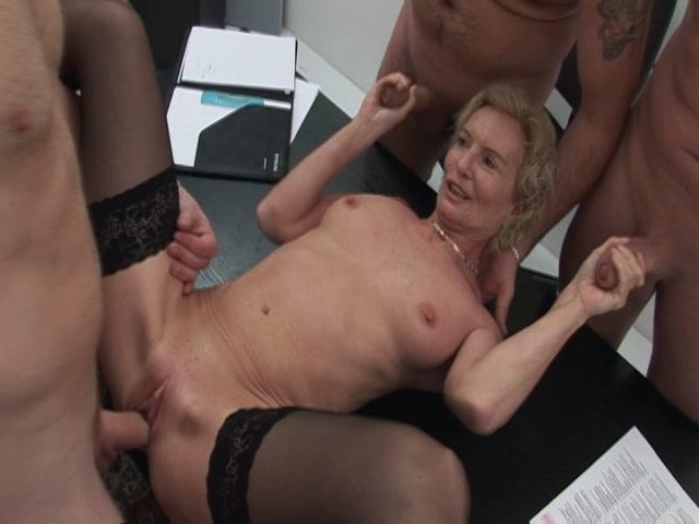 Streaming porn video still #2 from My German Grandma