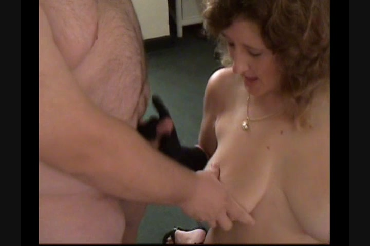 Helpless wife ejaculated cock