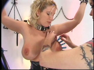 Streaming porn scene video image #4 from Hot lesbian BDSM