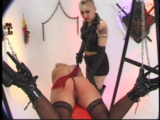 Streaming porn scene video image #8 from Hot lesbian BDSM