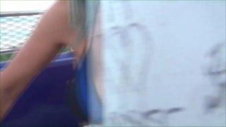 Streaming porn video still #5 from Naughty Alysha's Whore Bus 3