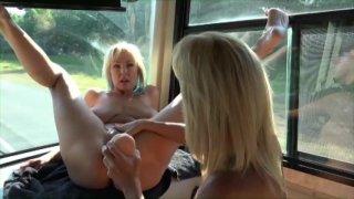 Streaming porn video still #2 from Naughty Alysha's Whore Bus 3