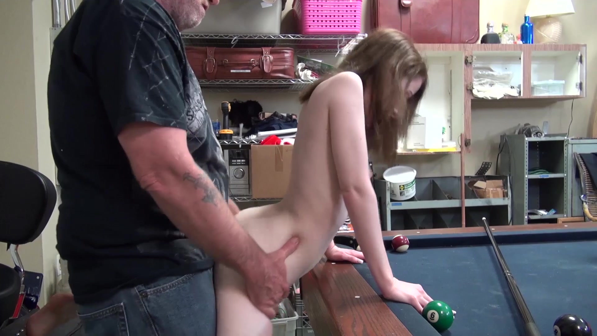 Bear step dad fucks twink step son after losing his job