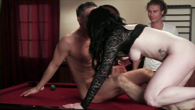 Streaming porn video still #1 from It's Not Cheating If My Husband Approves