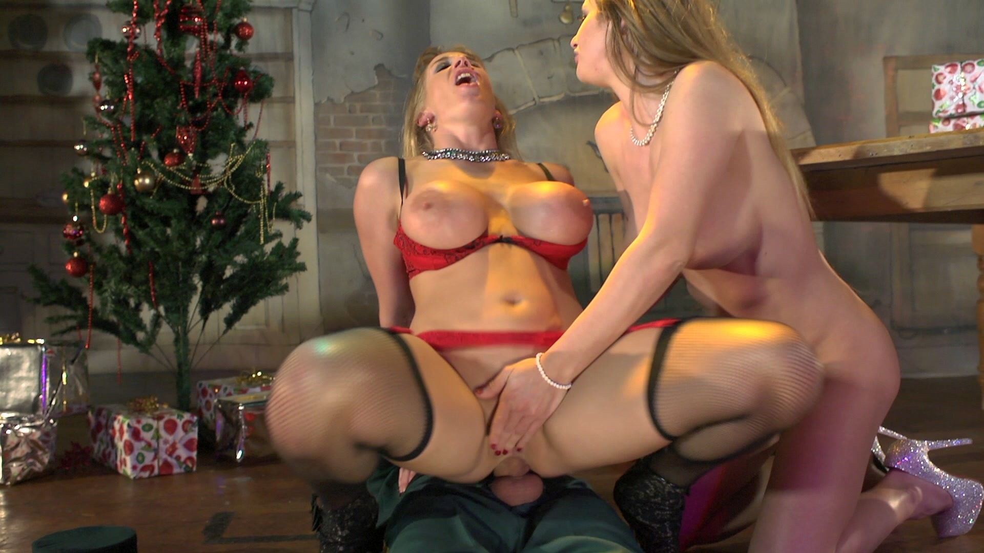 Free Video Preview Image 6 From Very Brazzers Christmas 2 A